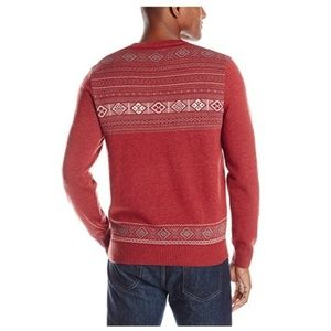 John Henry Sweaters - NWT Men's Fair Isle Holiday Crew-Neck Sweater